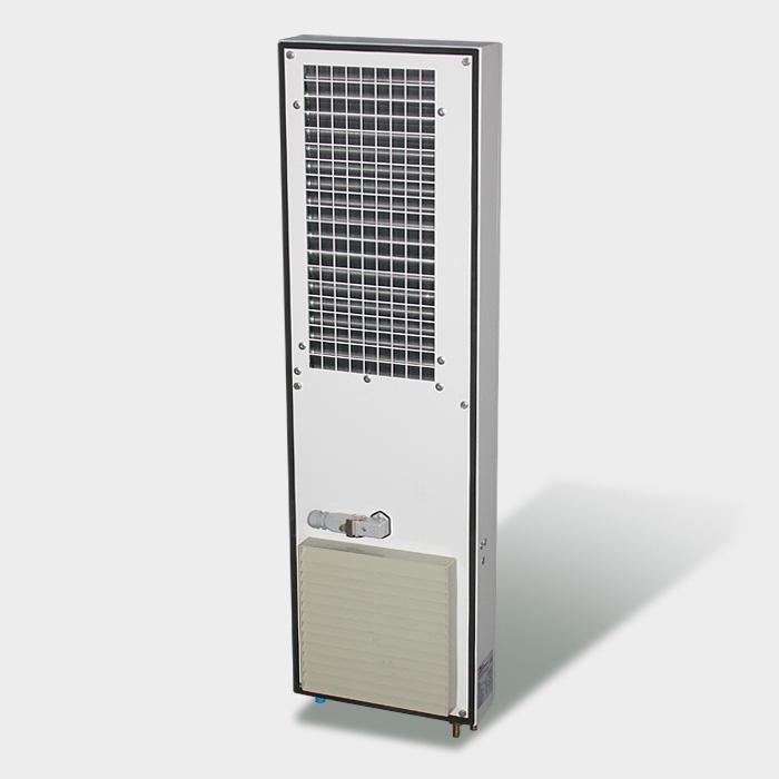 Burn Engineering AG, Olten: Luft / Wasser-Wärmetauscher - Serie LWT
